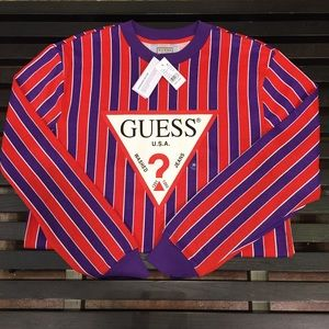 *NEW* Guess long sleeve MD w/tags